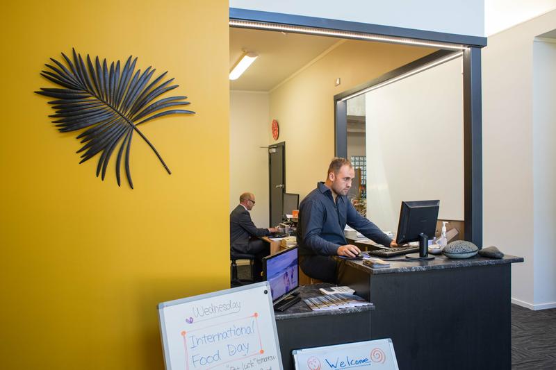 Séjour linguistique Nouvelle Zélande, Nelson - Nelson English Centre - Réception