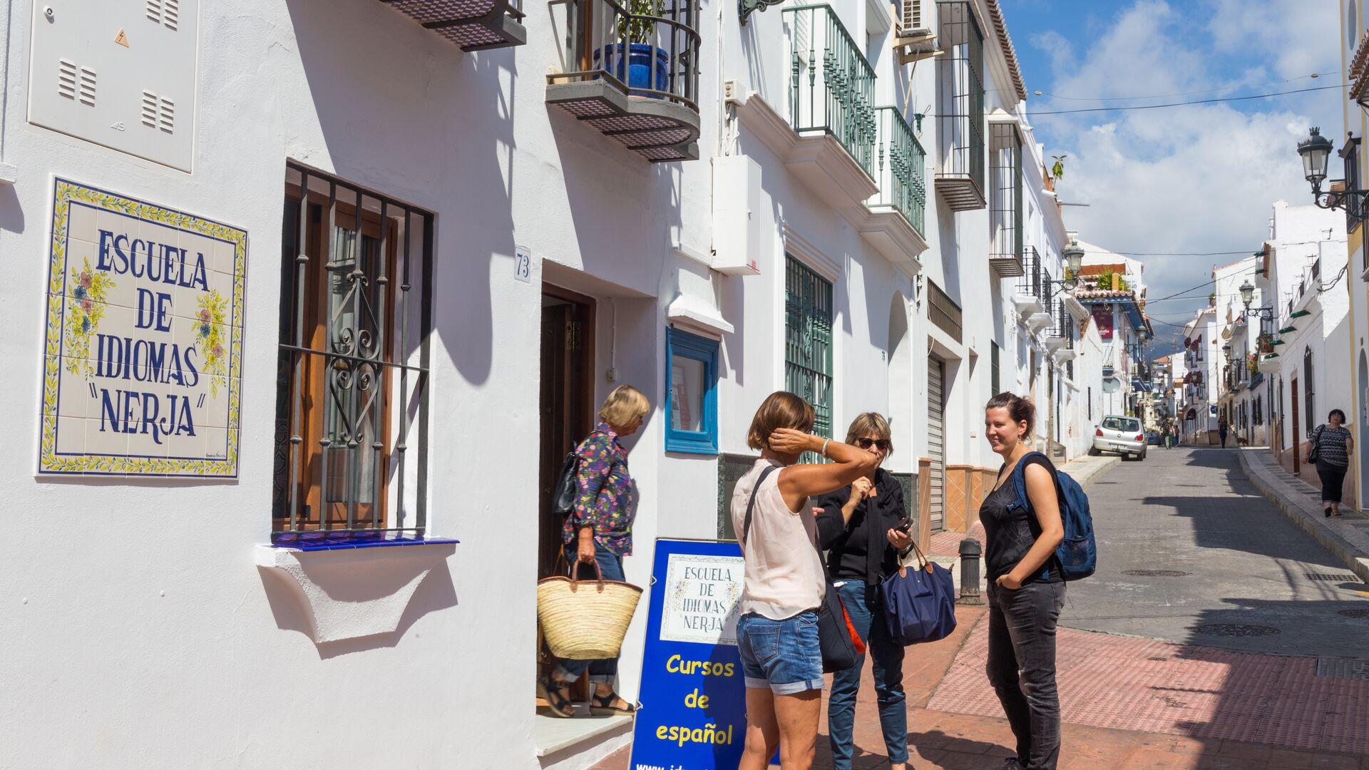 Sprachaufenthalt Sprachreise Spanisch Spanien in Nerja Escouela de Idiomas