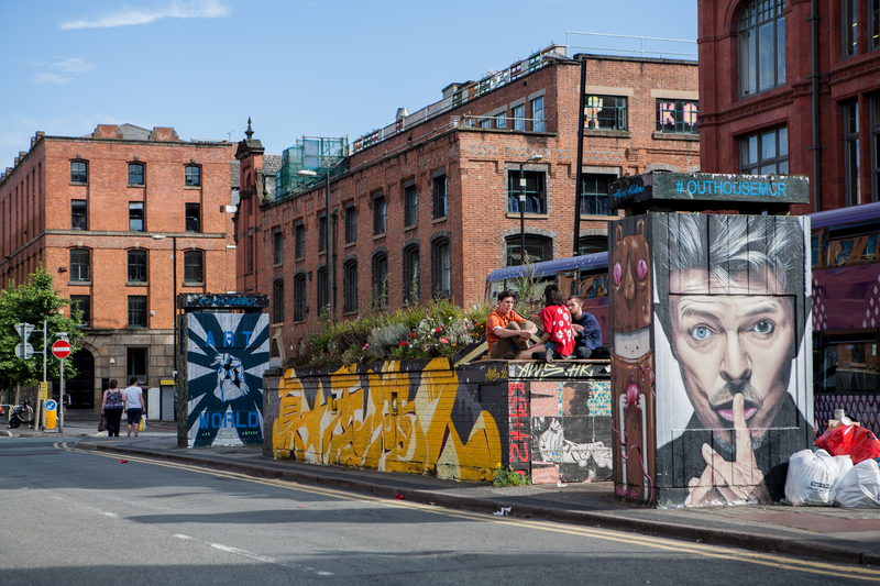 Sprachaufenthalt England, Manchester - Streetart