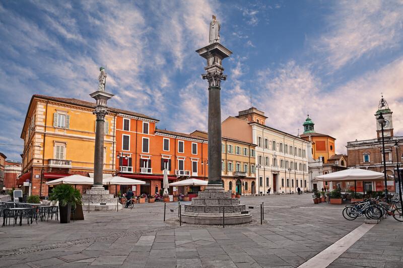 Sprachaufenthalt Italien, Ravenna - Piazza del Popolo