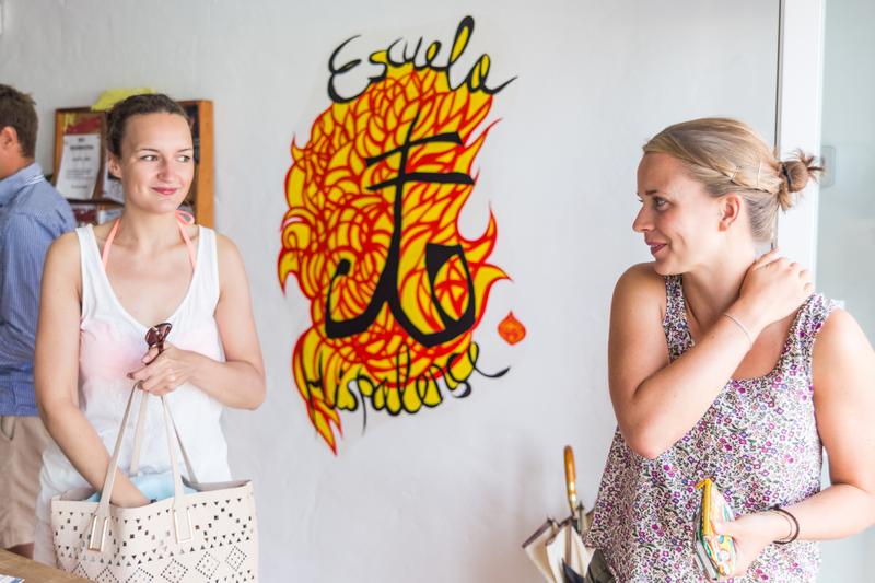 Séjour linguistique Espagne, Tarifa - Escuela Hispalense Tarifa - Étudiants
