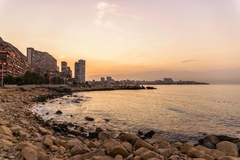 Sprachaufenthalt Spanien, Alicante - Strand