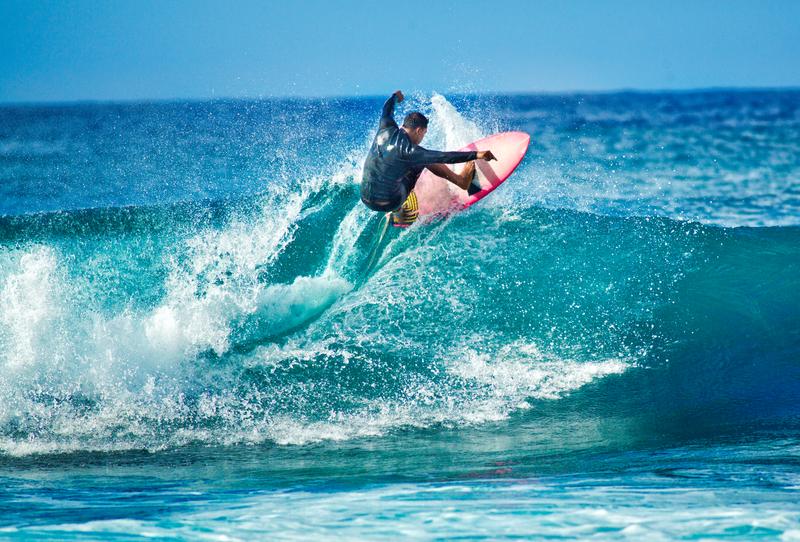 Sprachaufenthalt USA, Hawaii - Honolulu - Surfen