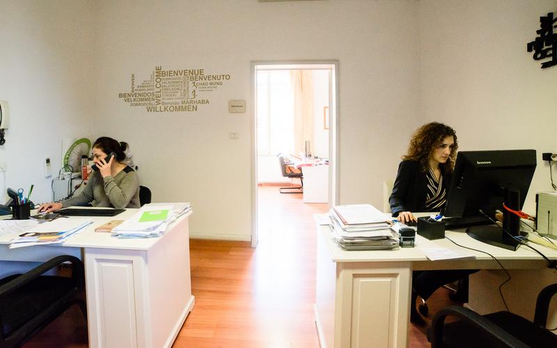 Sprachaufenthalt Italien, Bologna - ALCE Bologna - Rezeption