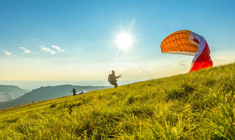 Sprachaufenthalt Frankreich, Annecy - Paragliding