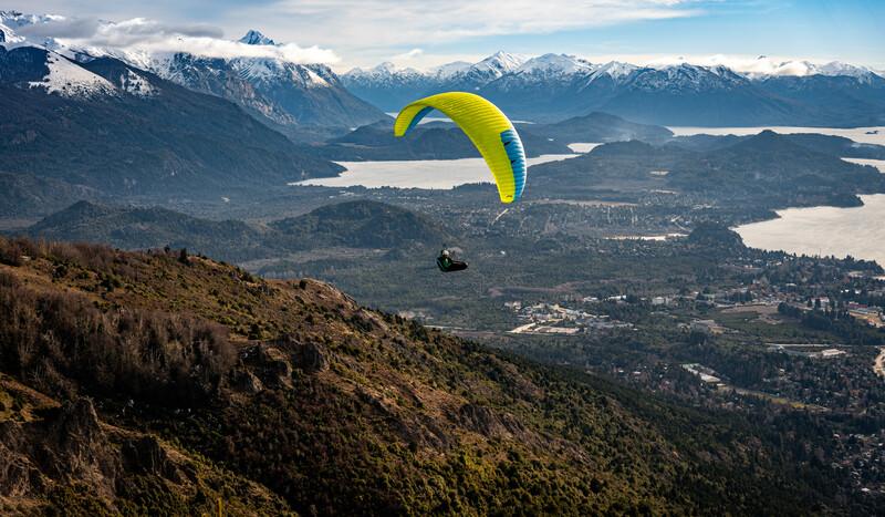 Séjour linguistique Argentine, Bariloche - Paragliding