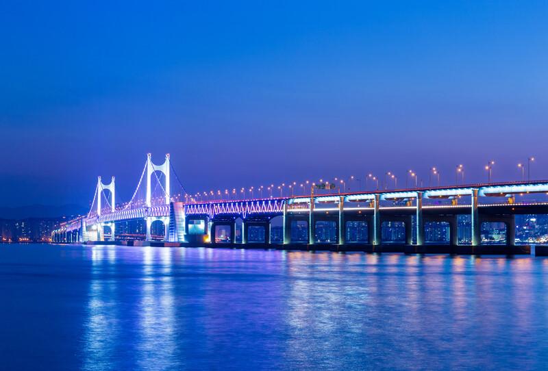 Séjour linguistique Corée du sud, Busan - Pont de Gwangan