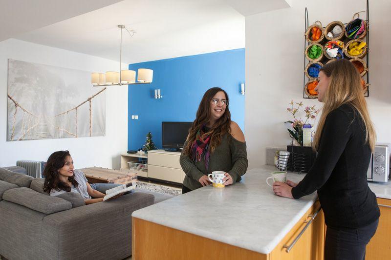 Sprachaufenthalt Malta, St. Julians - EC - Accommodation - Shared Apartment - Wohnzimmer