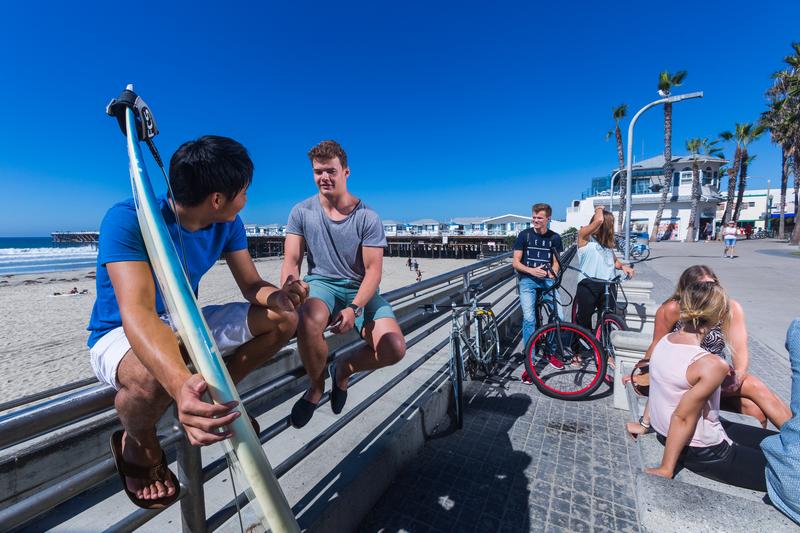 Sprachaufenthalt USA, San Diego - CEL Pacific Beach - Studenten