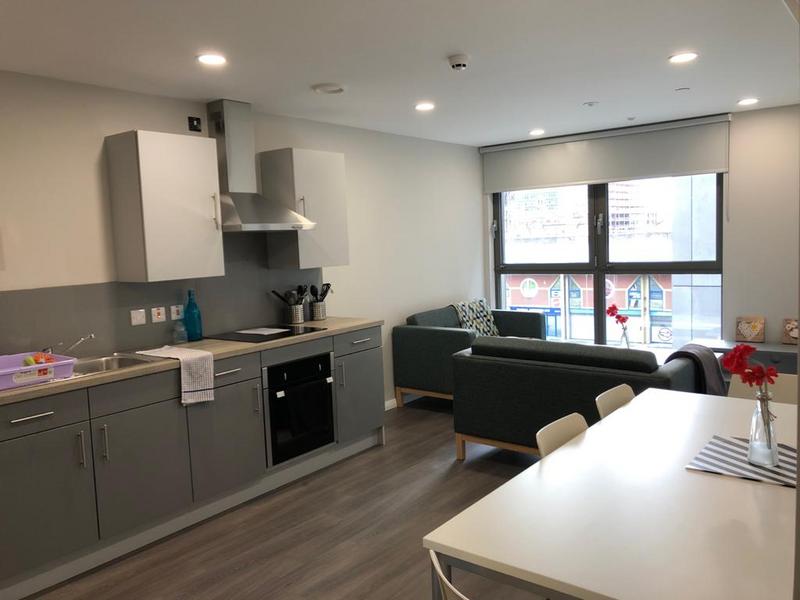 Sprachaufenthalt Engand, Belfast - International House Belfast - Accomodation - Shared Apartment - Küche