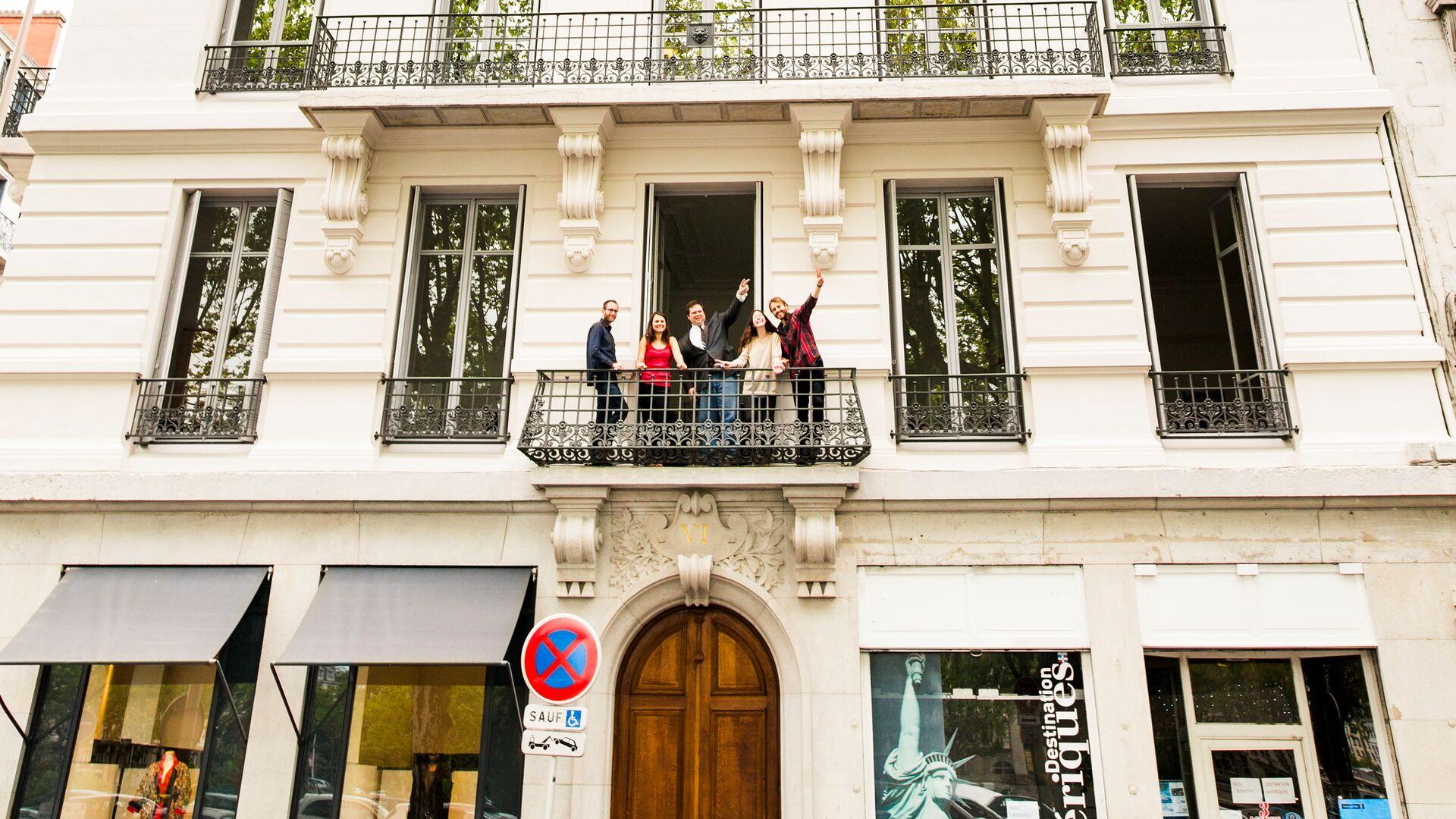 Sprachaufenthalt Frankreich, Lyon - Alpadia Language School Lyon - Schule