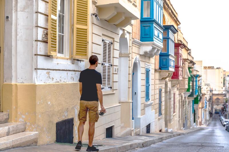 Séjour linguistique Malte, Sliema - Gallarija