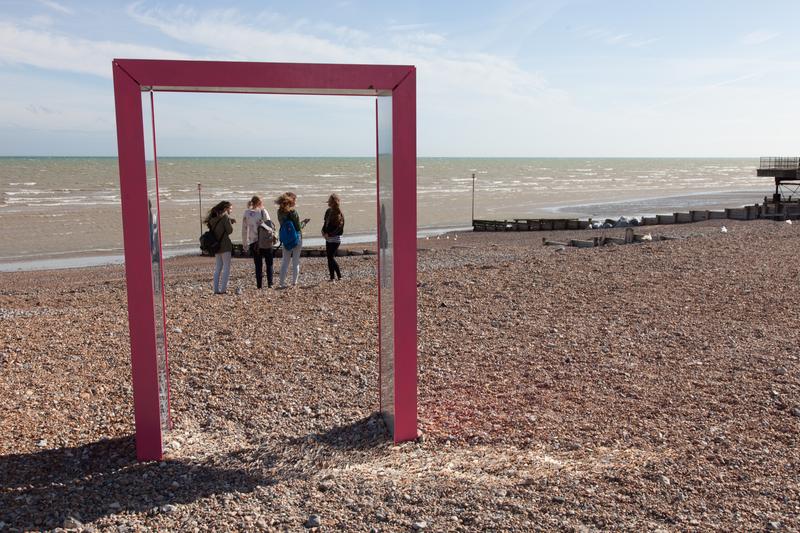 Sprachaufenthalt England, Worthing - Strand