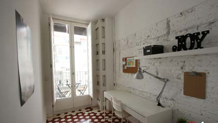 Séjour linguistique espagne, Valence - Maison internationale valence - Logement - Résidence gran via - Chambres