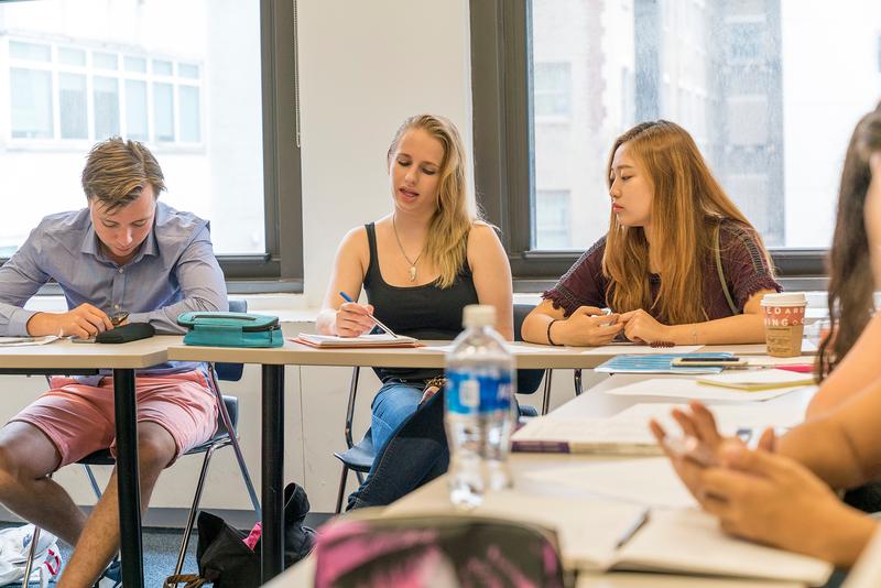 Sprachaufenthalt USA, New York - EC New York - Lektionen