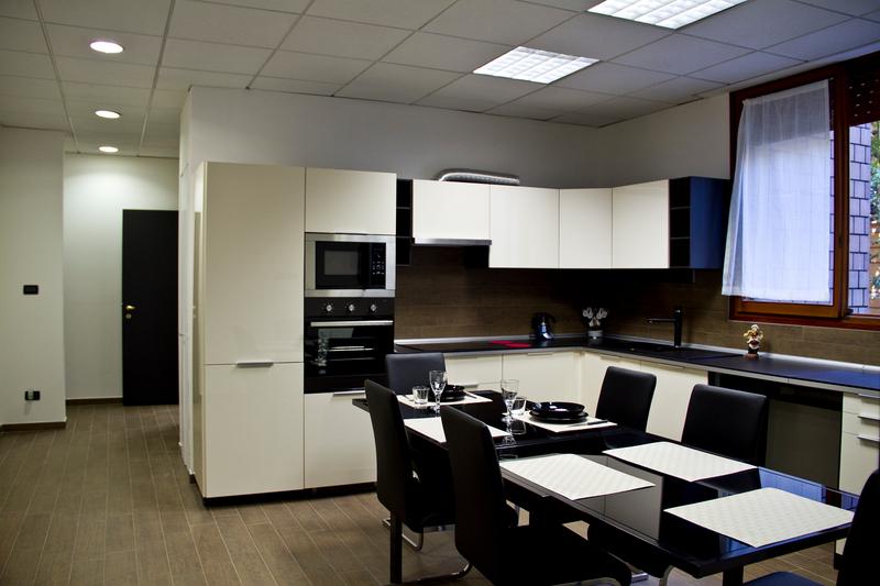 Sprachaufenthalt Italien, Bologna - ALCE Bologna - Accommodation - Residenz Bilbo - Küche