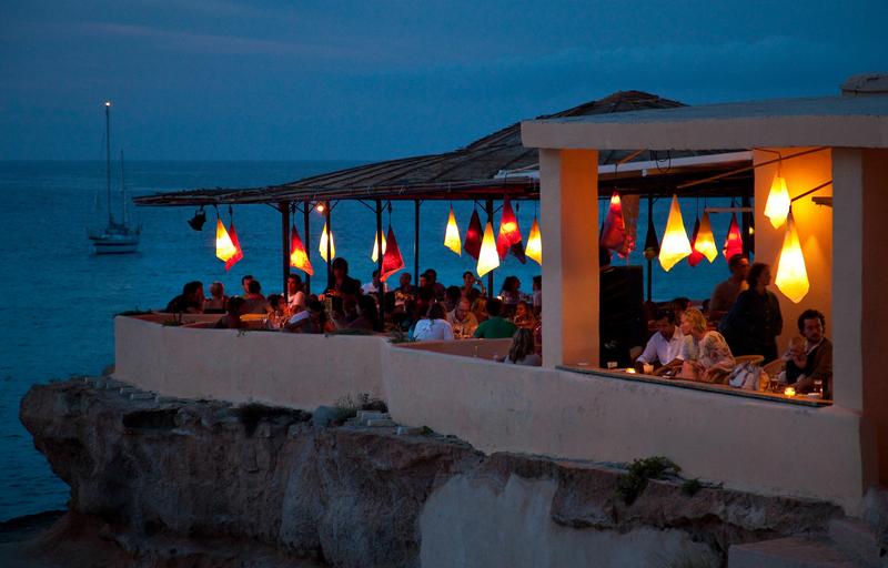 Séjour linguistique Espagne, Ibiza - Restaurant le soir