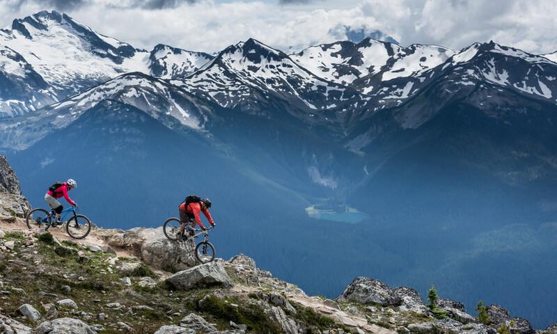 Sprachaufenthalt Kanada, Whistler - Biken
