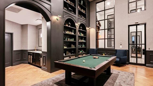Sprachaufenthalt USA, New York - EC - Accommodation - Wall Street Apartments - Aufenthaltsraum