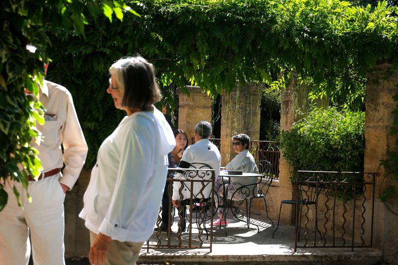 Sprachaufenthalt Frankreich, Aix en Provence - IS Aix en Provence - Terrasse