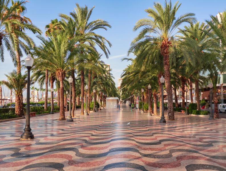 Sprachaufenthalt Spanien, Alicante - Explanada de España