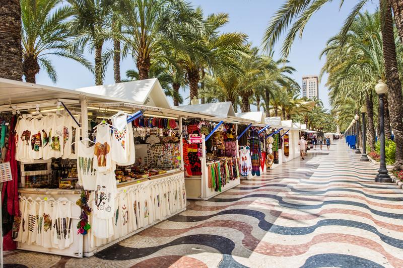 Sprachaufenthalt, Alicante - Promenade