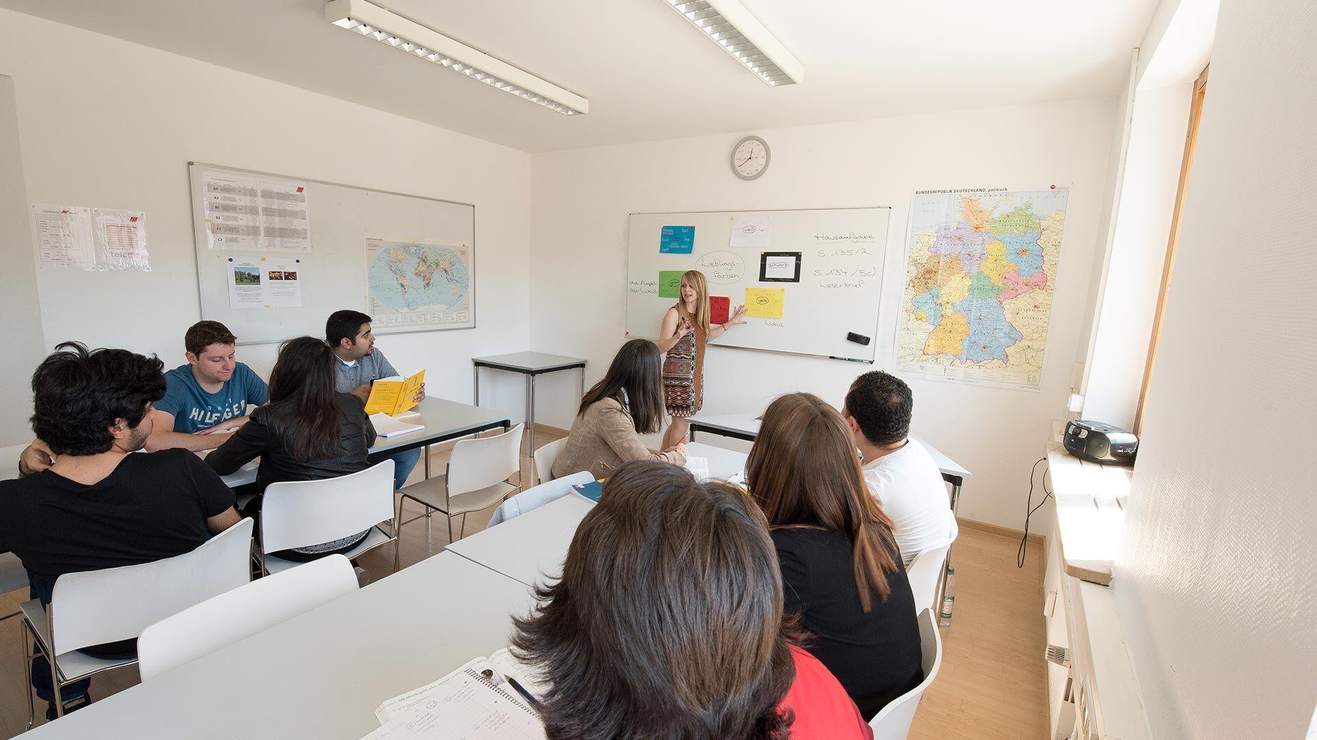 Séjour linguistique Allemand, Munich - DID Deutsch Institut München