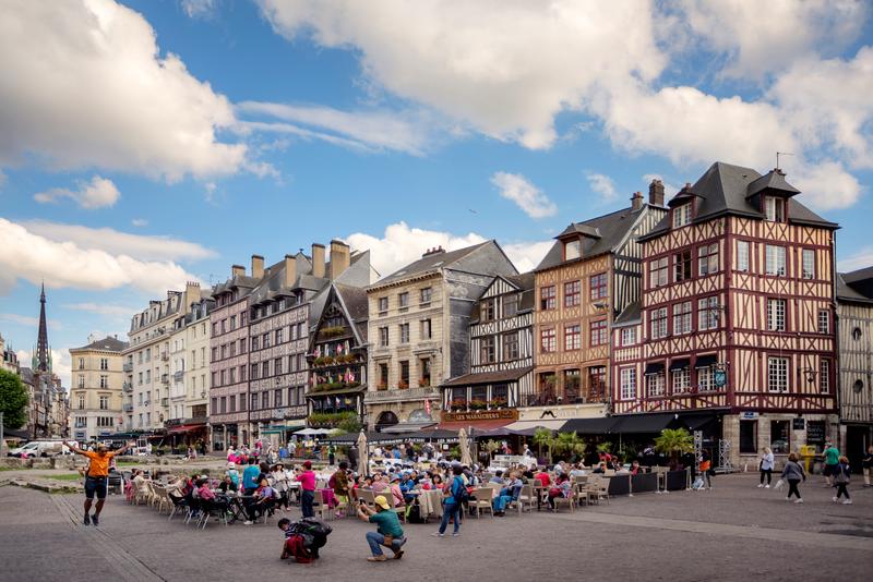 Sprachaufenthalt Frankreich, Rouen - Stadt