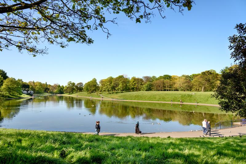 Sprachaufenthalt England, Liverpool - Sefton Park
