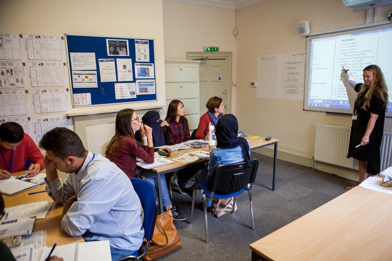 Séjour linguistique Angleterre, York - BSC York - Leçons