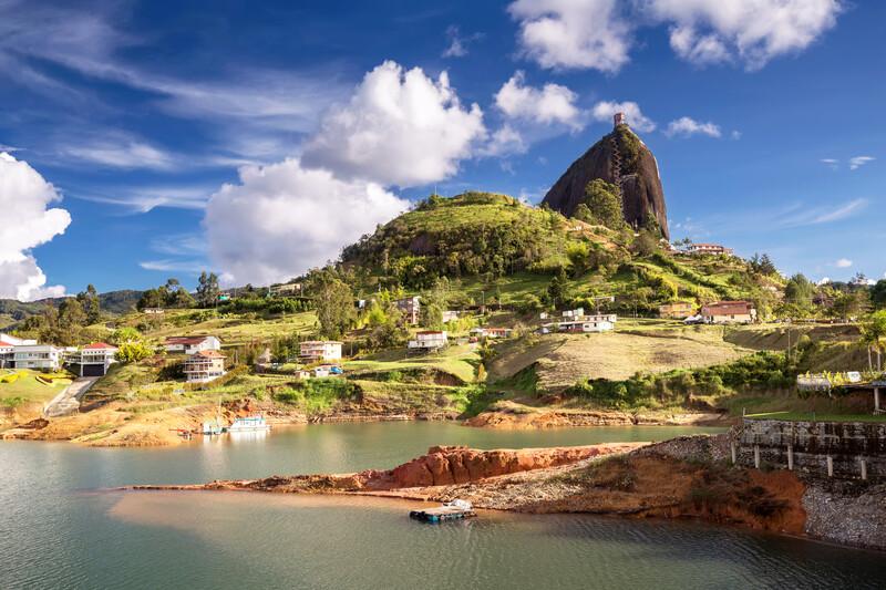 Séjour linguistique Colombie, Medellin - Rock El Penol