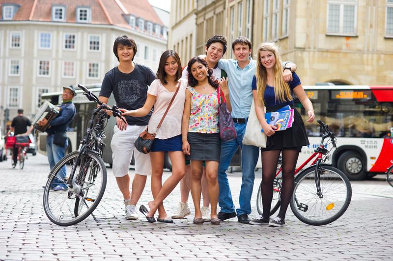 Séjour linguistique Allemagne, Münster - Kapito Sprachschule Münster - Étudiants