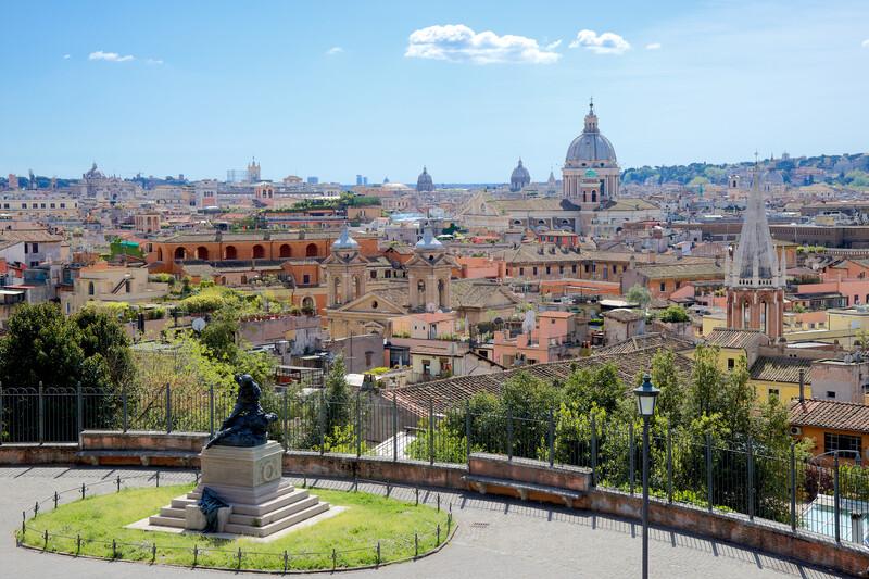 Sprachaufenthalt Italien, Rom - Passeggiata del Pincio