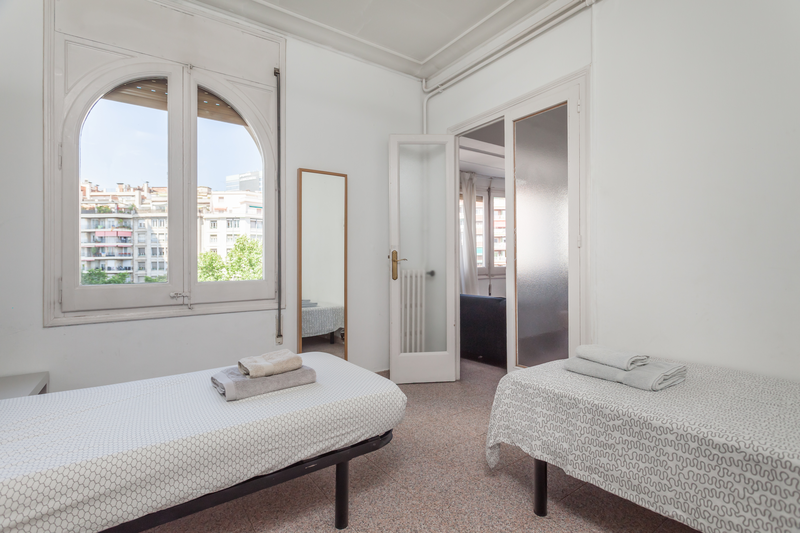 Sprachaufenthalt Spanien, Barcelona - Expanish Barcelona - Accommodation - Student Shared Apartment - Doppelzimmer