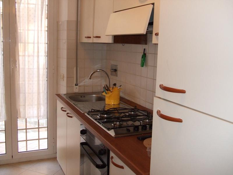 Sprachaufenthalt Italien, Rom - Scuola Leonardo da Vinci Roma - Accommodation - Shared Apartment - Küche