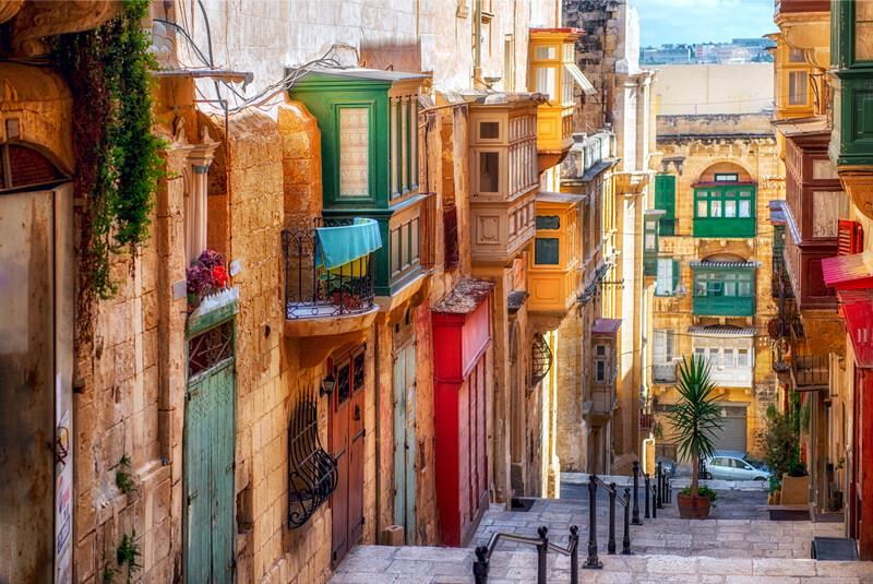 Sprachaufenthalt Malta, Valletta
