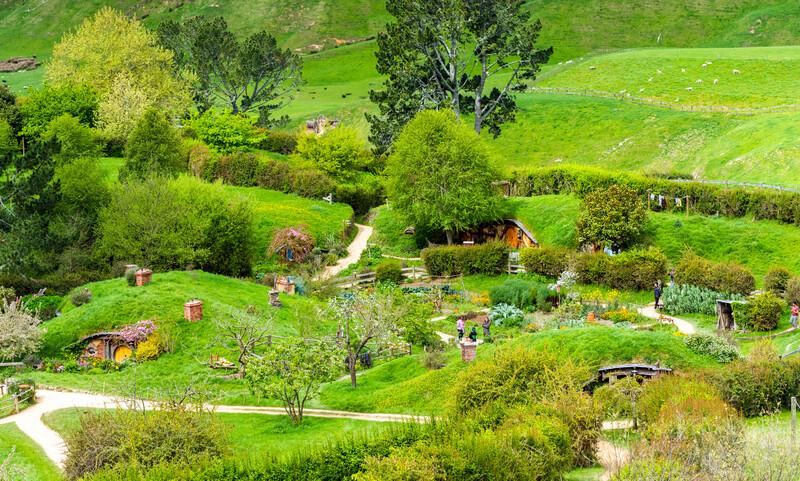 Séjour linguistique Nouvelle-Zélande, Hobbiton