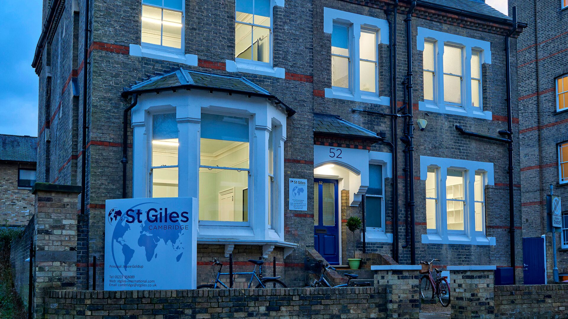 Sprachaufenthalt England, Cambridge - St Giles Cambridge - Schule