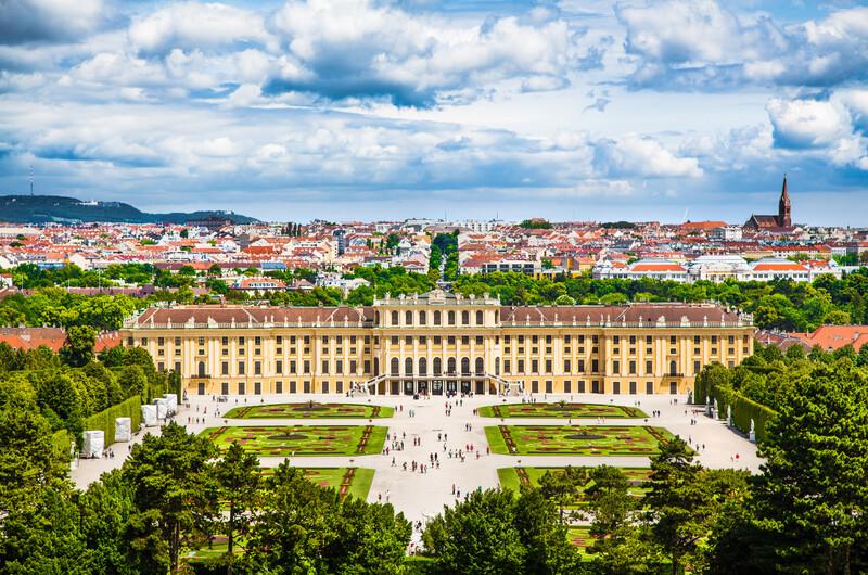 Sprachaufenthalt Österreich, Wien - Schloss Schonbrunn