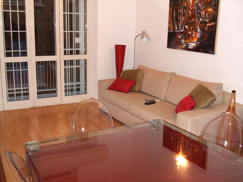 Sprachaufenthalt Italien, Rom - Scuola Leonardo da Vinci Roma - Accommodation - Shared Apartment - Wohnzimmer