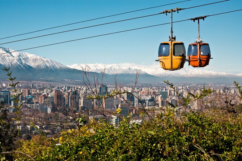 Séjour lingusitique Chili, Santiago de Chile - San Cristobal Hill