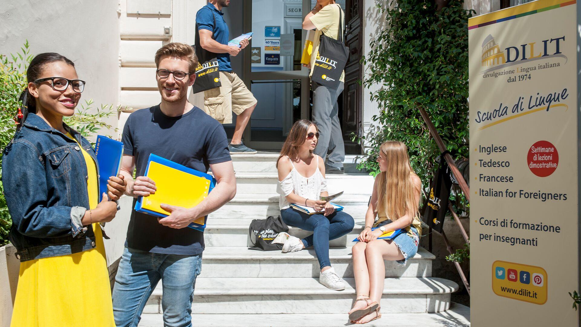 Sprachaufenthalt Italien, Rom - Dilit International House Roma - Schule