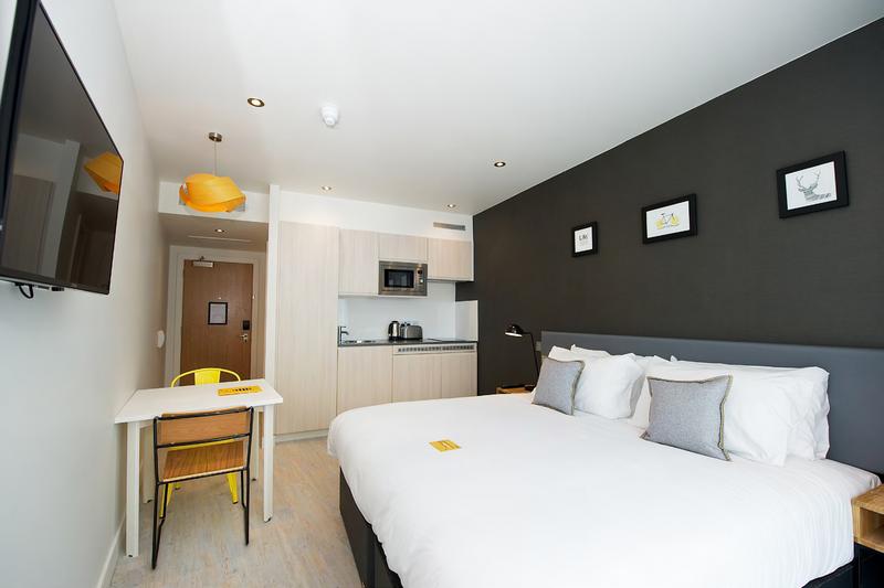 Sprachaufenthalt England, York - BSC York - Accommodation- Residenz York - Schlafzimmer