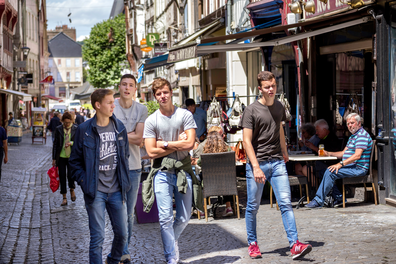 Sprachaufenthalt Frankreich, Rouen - Studenten