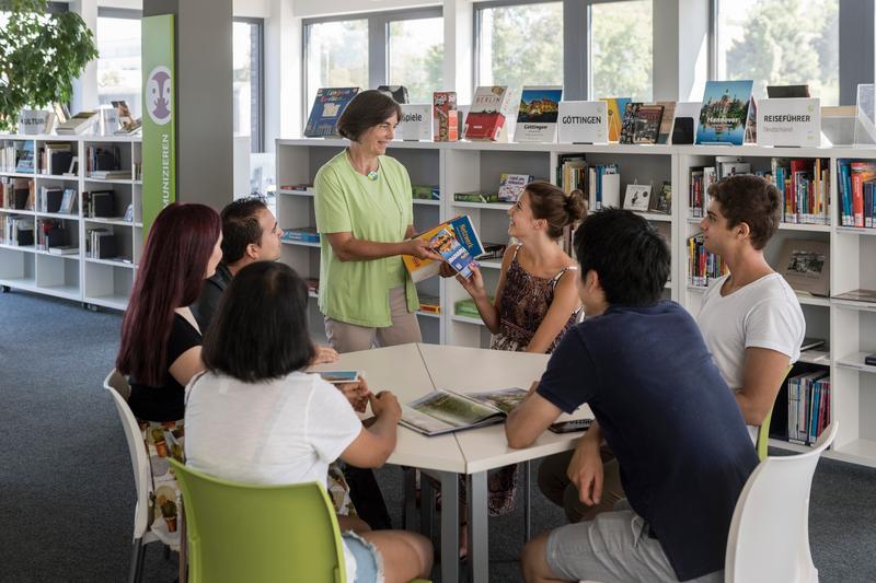 Séjour linguistique Allemagne, Goethe Institut Göttingen - Leçon © Goethe-Institut da Silva