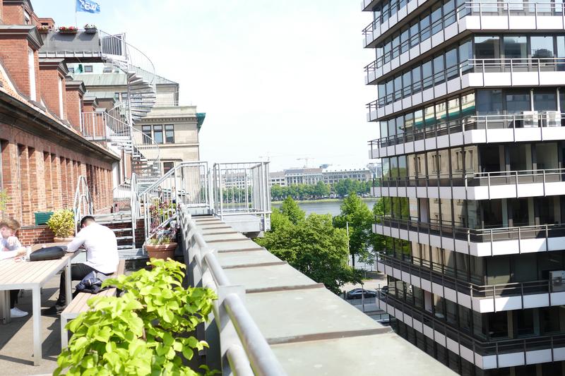 Sprachaufenthalt Deutschland, Hamburg - DID Hamburg - Balkon