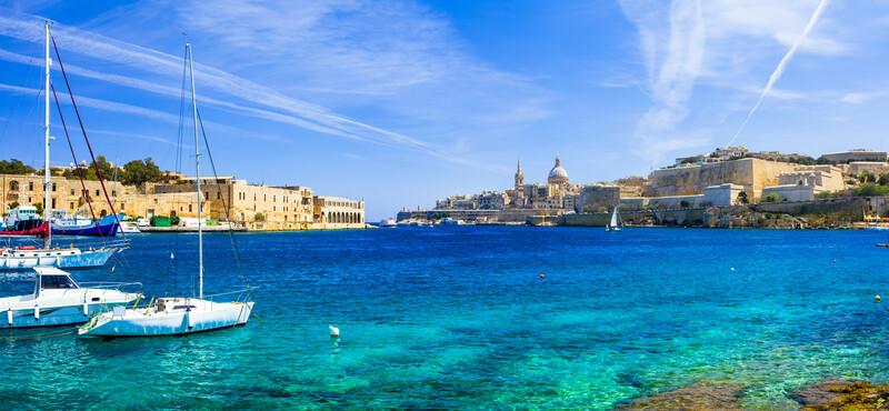 Séjour linguistique Malte, Sliema - Valetta