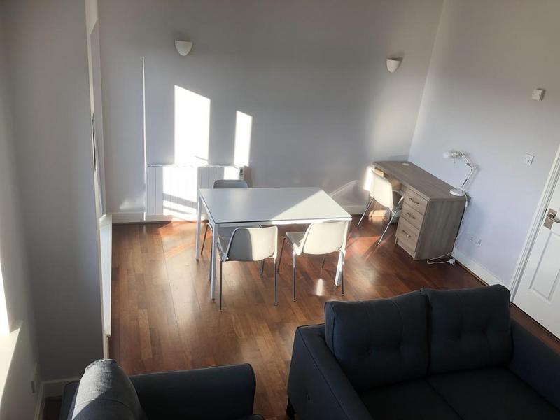 Sprachaufenthalt Irland, Galway - Atlantic Language School Galway - Accommodation - Kitty Hall - Wohnzimmer