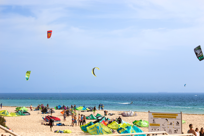 Séjour linguistique Espagne, Tarifa - Kitesurfing