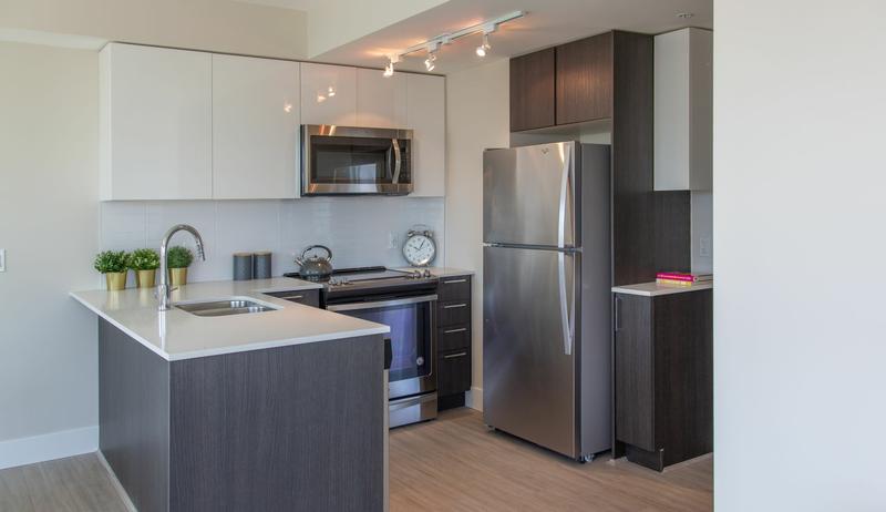 Sprachaufenthalt Kanada, Vancouver - St Giles Vancouver - Accommodation - GEC VIVA Tower - Küche